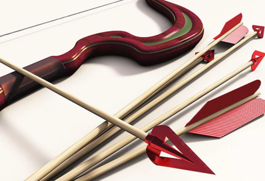Make Your Bow and Arrow Like a Real Cupid
